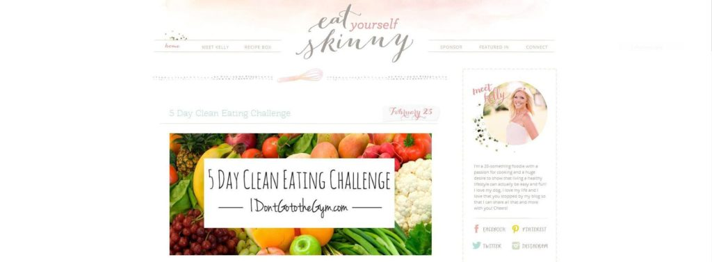 Eat Yourself Skinny Blog