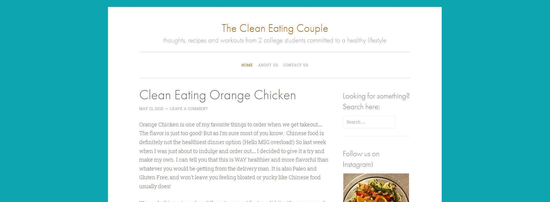 The Clean Eating Couple Blog