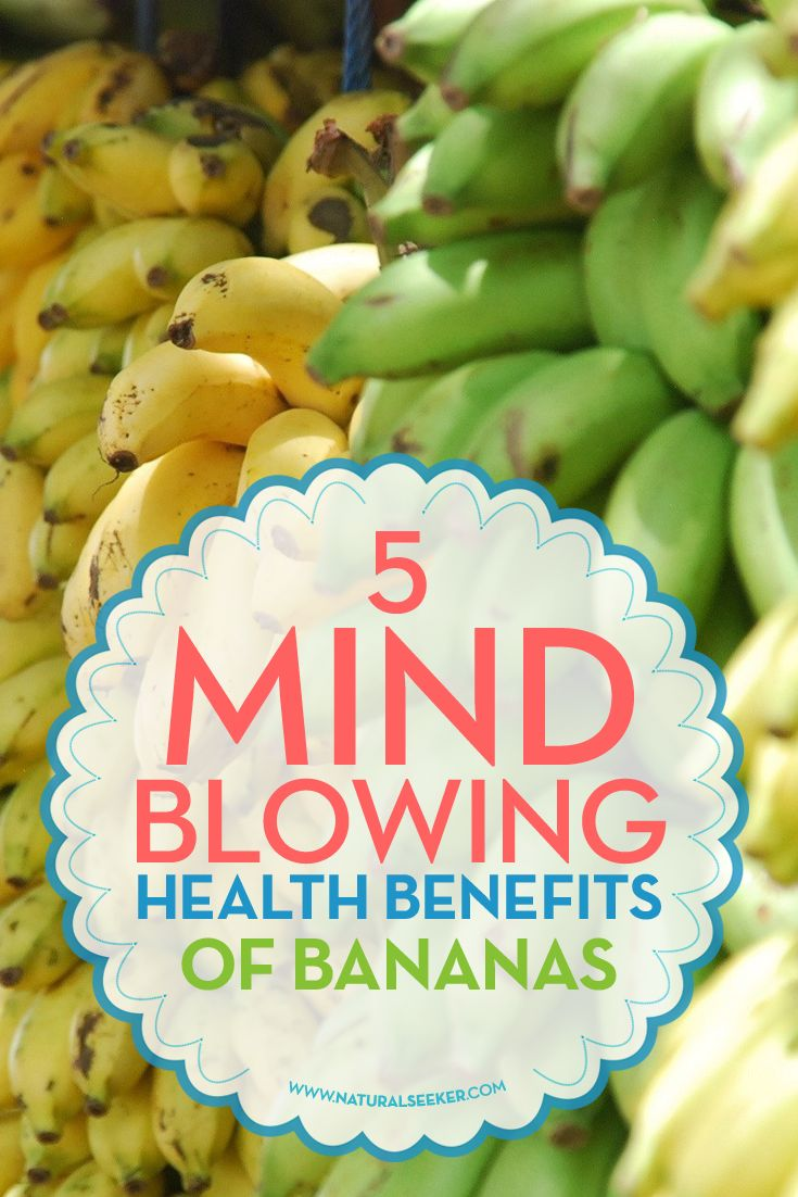 5 Mind Blowing Health Benefits of Bananas - Natural Seeker Health Blog