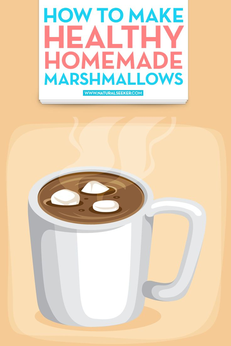 How to Make Healthy Homemade Marshmallows